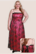 Gitter Gown Plus Size