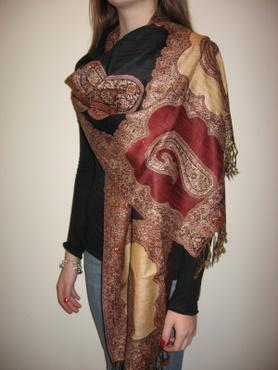 Pashmina Silk Designer Scarf