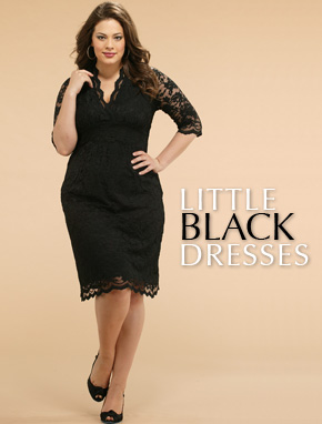 Size Black Dress on Plus Size Dresses    Plus Size Clothing News