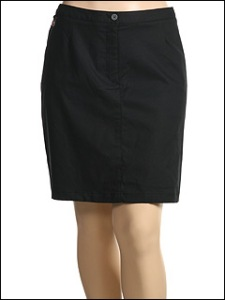 Plus Size Golf Skort