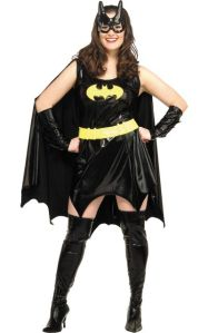 sexy batgirl plus size costume