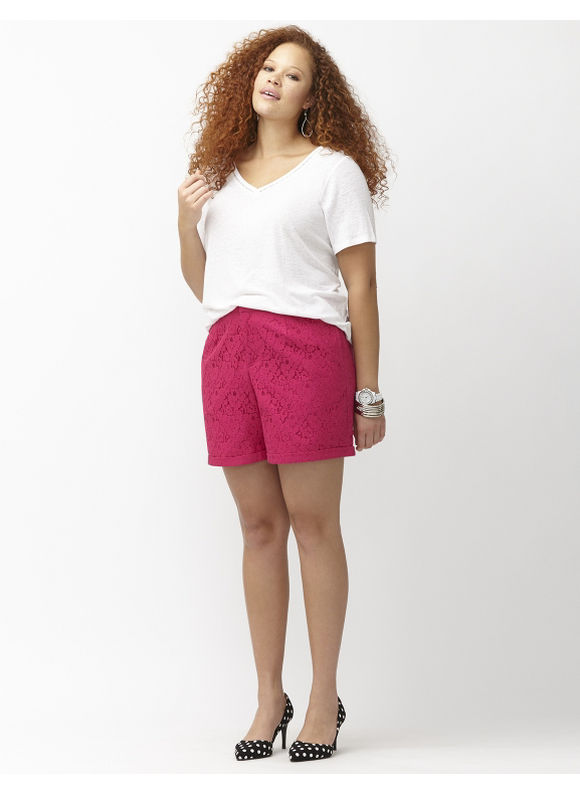 Find plus size lace shorts at ShopStyle. Shop the latest collection of plus size lace shorts from the most popular stores - all in one place.