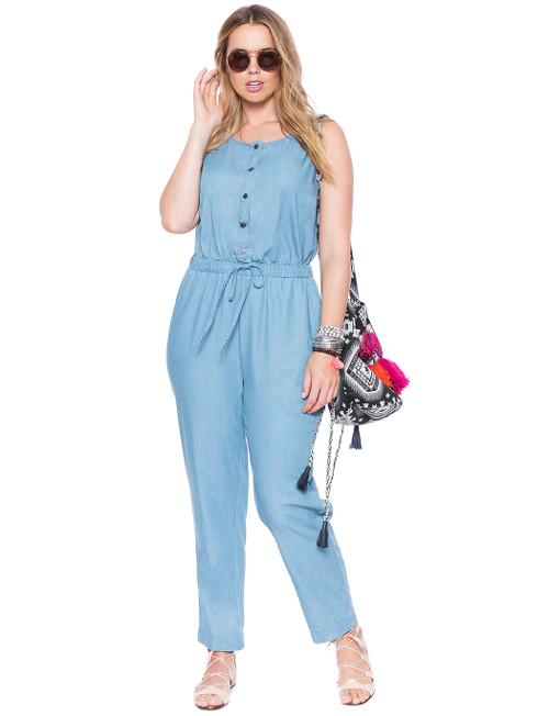 Plus Size Rompers Jupmsuits